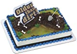 Older Than Dirt Birthday Cake Topper Decorating Kit