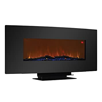 Amazon.com: Wall Hanging Fireplace Black: Electronics