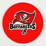 NFL Tampa Bay Buccaneers Vinyl Coaster Set (Pack of 4)