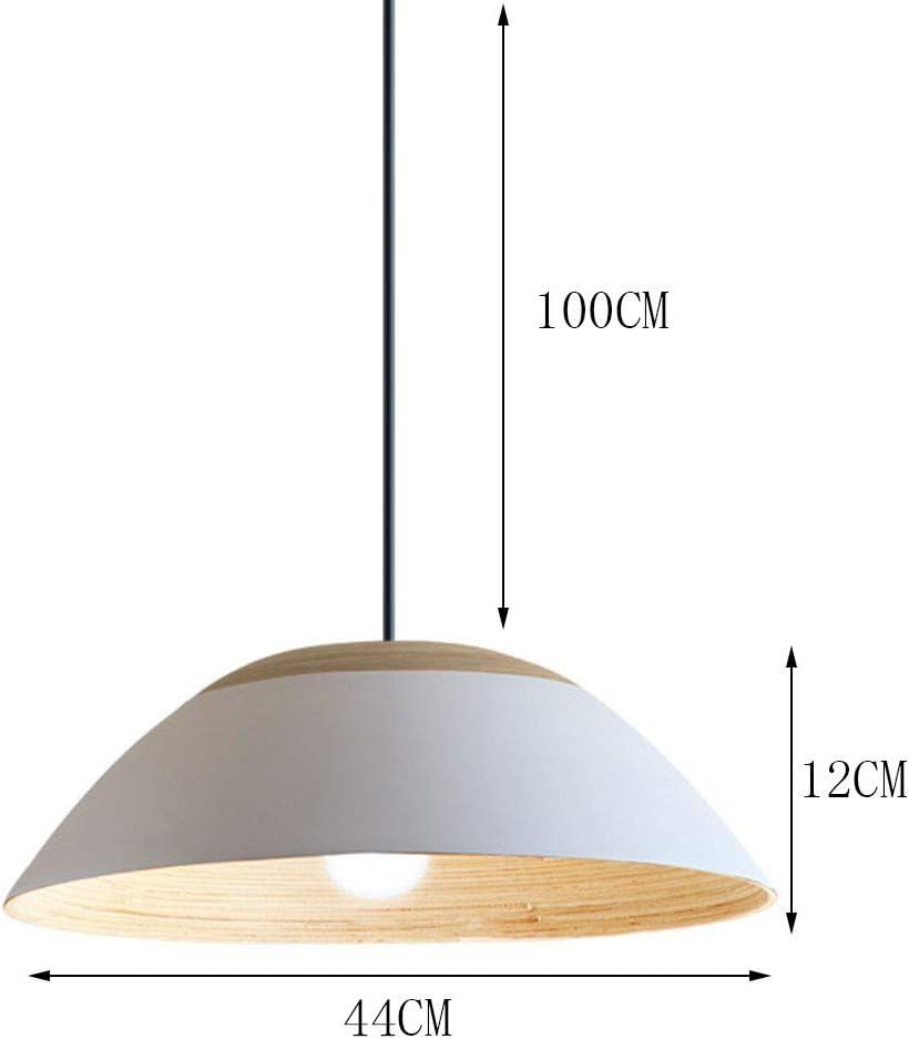 Lámpara colgante retro E27 sauce blanco y bambú Suspensión ligero redondo de la vendimia lámparas pendientes de la lámpara de altura ajustable Sala Comedor Dormitorio Cocina: Amazon.es: Iluminación