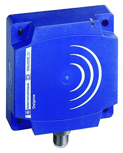 Heavy-Duty 3-Wire DC PNP Wiring M12 Micro-Connector Telemecanique XS7D1A1PAM12 Optimum Series Inductive Proximity Sensor NO Output PNP Input Plastic 80 x 80 x 26 mm Rectangular Body