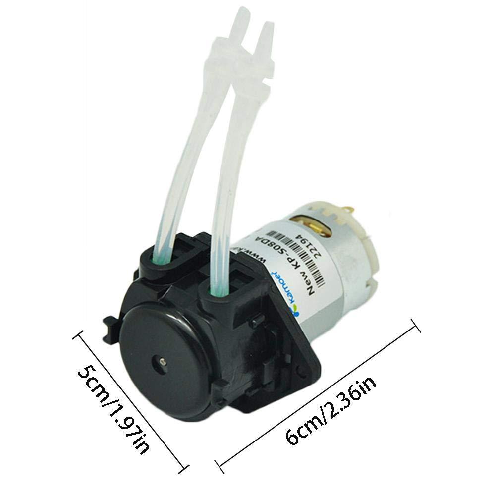 Bloomma 12v Bomba perist/áltica Micro Bomba de Agua hogar Bomba de Agua peque/ña y silenciosa Bomba autocebante silenciosa