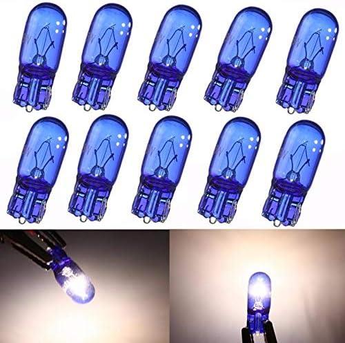 W5w T10 5w Super Bright White Xenon Sidelight Bulbs Wide Lamp 12v Cod Auto
