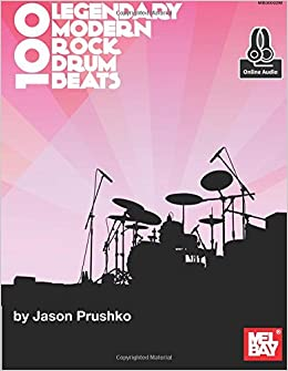 100 legendary modern rock drum beats jason prushko 9780786697205 100 legendary modern rock drum beats 1499 free shipping fandeluxe Images