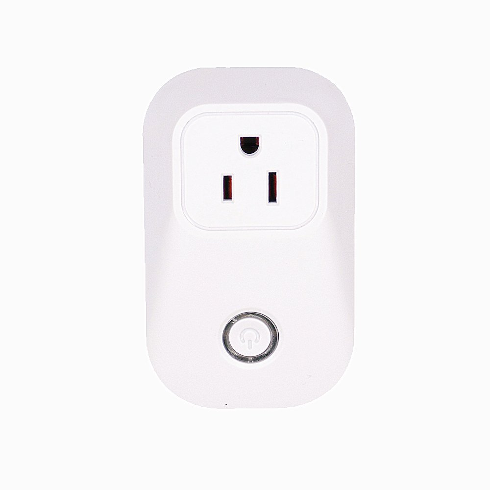 Heanttv Wireless Wifi Smart Plug Remote Outlet Timer Switches Us T1 Wall Jack Wiring Socket No Hub Required Compatible With Alexa Whites20