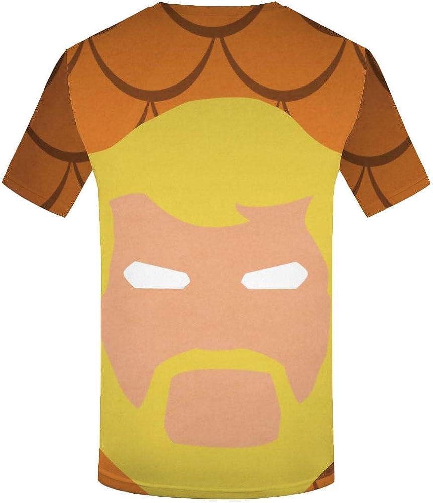 Impression Num/érique 3D Doux Et Confortable Manches Courtes Grande Taille /À S/échage Rapide WHLTX T-Shirt Cr/éatif