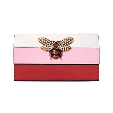 8c9a82f79c8d Beatfull Desinger Genuine Leather Bee Wallet for Women, Stylish Card  Organizer Wallet(L,