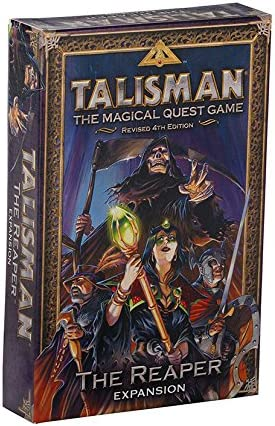 Games Workshop gaw89002 No Talisman: The Reaper Expansion, Juego: Amazon.es: Juguetes y juegos