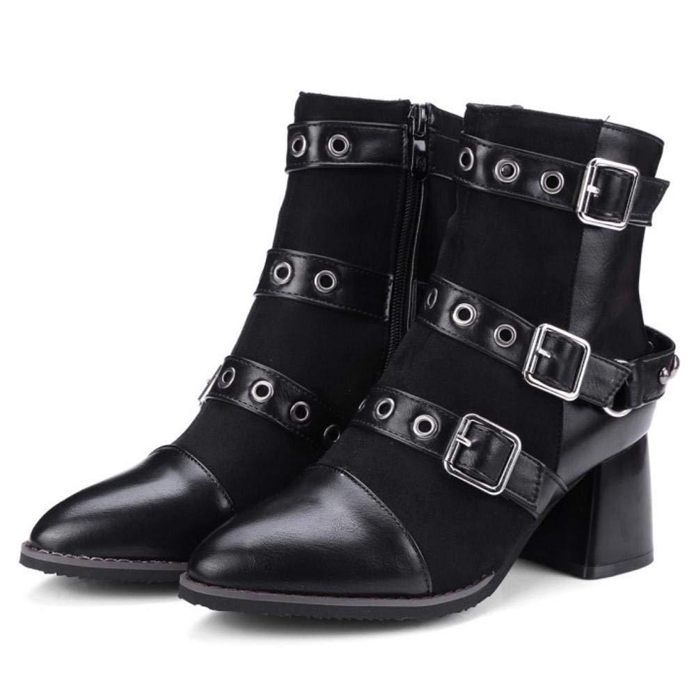 HhGold Frauen stilvolle Stiefelie Stiefel Reißverschluss Reißverschluss Reißverschluss f226b3