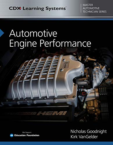 Automotive Engine Performance: CDX Master Automotive Technician Series