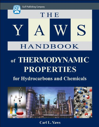 Y615 Ebook  Download Ebook The Yaws Handbook Of Thermodynamic Properties For Hydrocarbons And