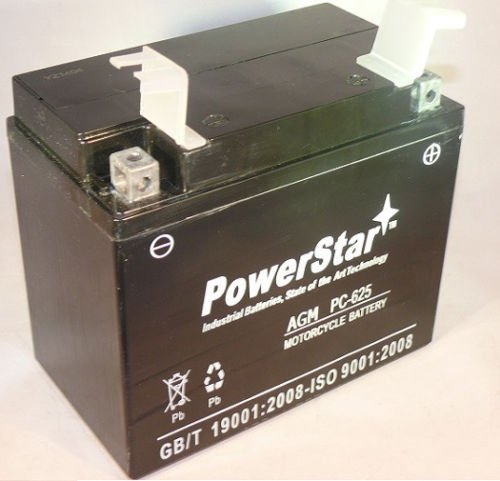 PowerStar PS-625 POWERSTAR-027 Replacement Battery For Atv Bombardier Quest 1999-2003