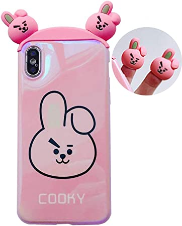 Case 3D Cute Bunny Rabbit Squishy Toy