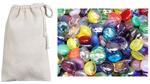 Universal Specialties Mancala Stones Plus Carrying Pouch