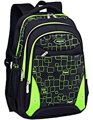 Rorunis Waterproof Cute School Backpacks for Boys Book Bags Back Packs