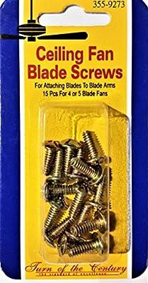 Ceiling Fan Blade Screws