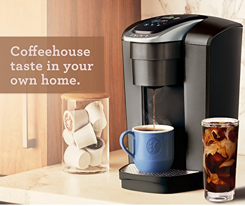 Keurig K-Elite K Single Serve K-Cup Pod Maker, with Strong Temperature Control, Iced Coffee Capability, 12oz Brew Size, Brushed Slate by Keurig (Image #10)