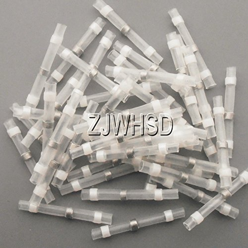 100pcs-26-24-awg-solder-sleeve-heat-shrink-butt-wire-splice-connector-waterproof-white-gold-sister