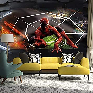 Amazoncom Spiderman Po Wallpaper Murals Modern 3d Wall