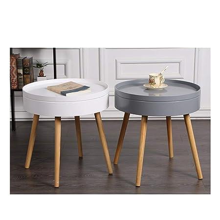 Amazon.com: LYQZ Nordic Coffee Table Living Room Simple ...