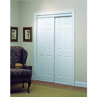 Home Decor Innovations 106 Series 6 Panel Design Bypass Door White 60X80 In Multifold Interior Doors Amazon Industrial Scientific