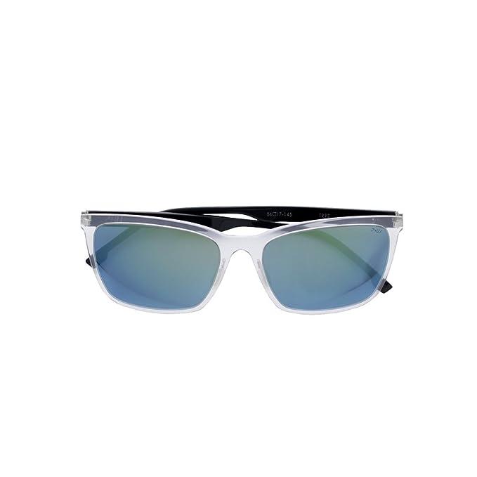 Gafas de sol P +US montura transparente: Amazon.es: Ropa y ...