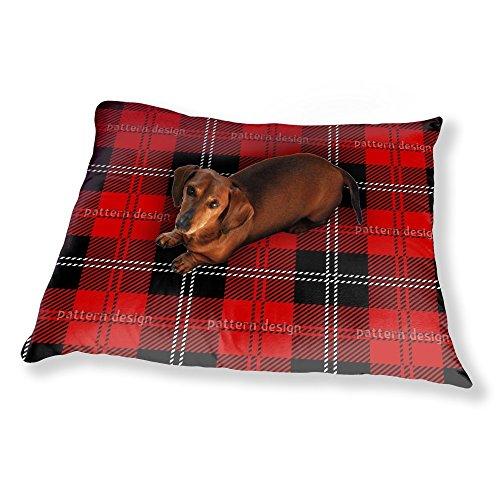 Kilt Dog Pillow Luxury Dog / Cat Pet Bed (Checked Kilt)