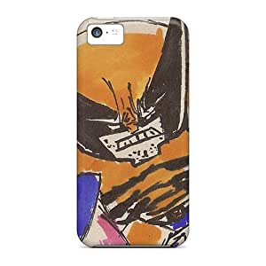 Excellent Iphone 5c Case pc Cover Back Skin Protector Wolverine