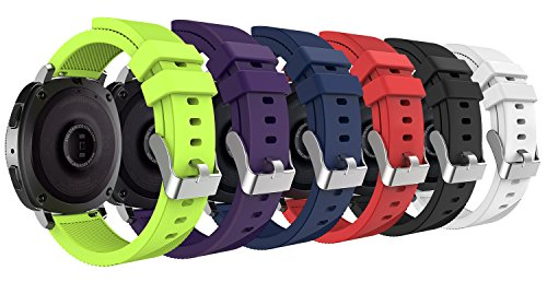 MoKo 20mm Universal Watch Band, Soft Silicone Adjustable for sale  Delivered anywhere in Canada