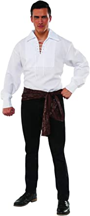 Swashbuckler Pirate Shirt Adult Costume Accessory