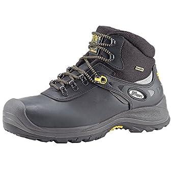 Grisport grs956 – 40 corriente impermeable seguridad botas, tamaño: 40, negro (Pack
