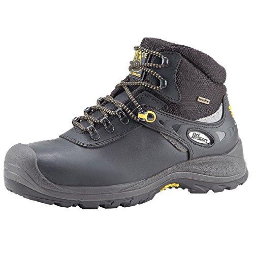 Grisport GRS956–48Stream impermeabile stivali di sicurezza, misura: 48, colore: Nero (Confezione da 2)