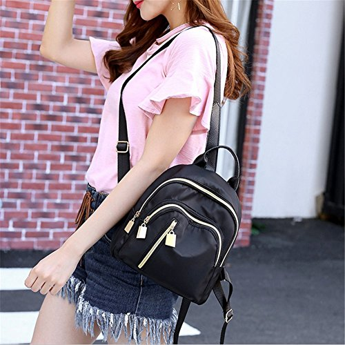 Yellow Backpack P amp; Z Schoolbag Travel Womens Girls Fashion Casual Daypack Storage ZwvPxU61Pq