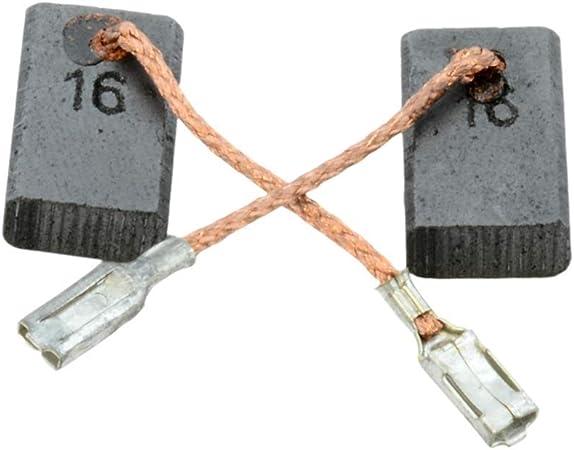 Balais Charbon Pour Bosch Gws 9-125 C 5x8mm 1607014116