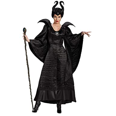 Hotcostyle Maléfica Cosplay Vestido Negro Bruja Disfraz Marlene ...