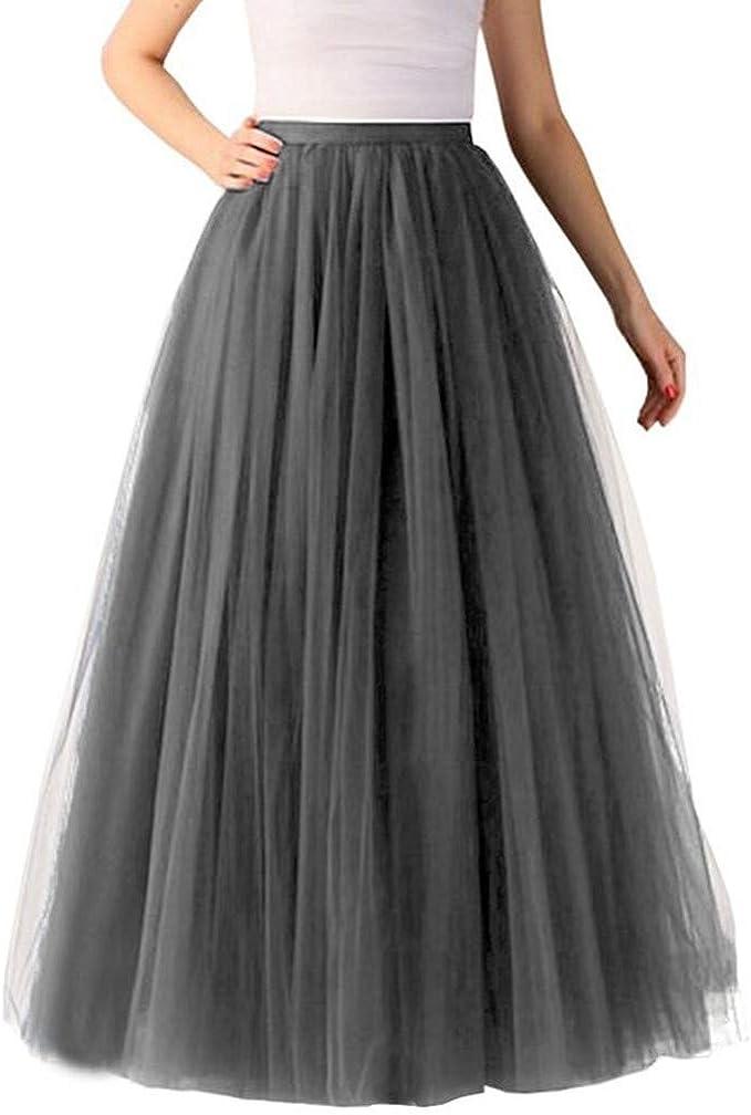 Vectry Falda De Flamenca Faldas Largas Verano Faldas Cortas ...