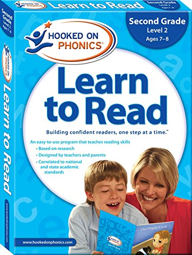 Hooked on Phonics Learn to Read - Second Grade: Level 2 (Ages 7-8) (8) (Learn To Read Hooked On Phonics Pre K)