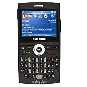 Samsung Blackjack i607 Unlocked GSM Phone with 1.3MP Camera, QWERTY Keyboard and Memory Card Slot--U.S. Version without Warranty (Black)