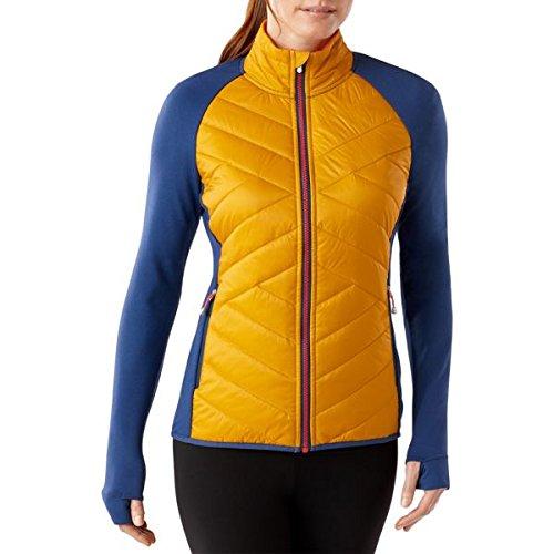 Smartwool Mujer Corbet 120–Chaqueta, color amarillo, mujer, Corbet 120, Sunglow, small