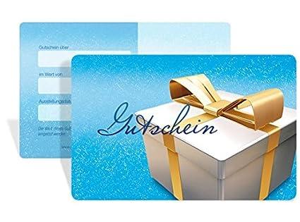 10 St/ück Nikolaus - Gutscheine f/ür Weihnachten au/ßergew/öhnliche Form als kleine Geschenkbox! Gutscheinkarten Cute Case