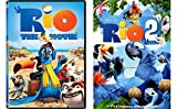 Rio & Rio 2 - 2-DVD Animated Family Fun Bundle Set