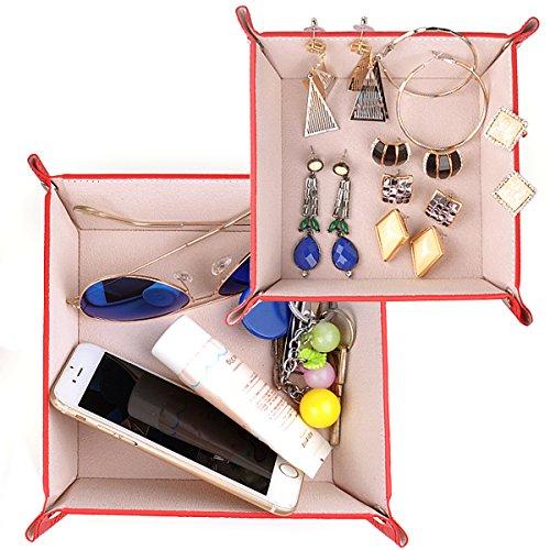 Jewelry Organizer Leather Storage Catchall product image