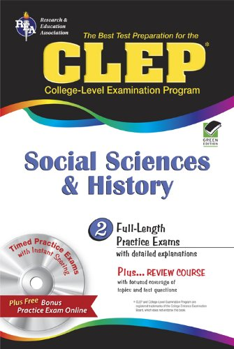 CLEP Social Sciences and History w/CD (CLEP Test Preparation)