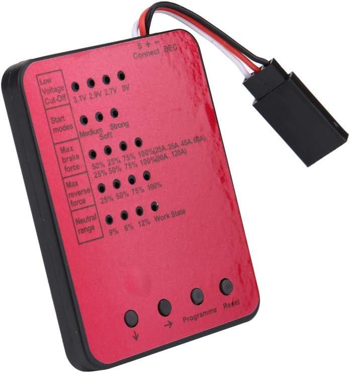 B07MZVZXPF for 1/10 RC Car,Hongxin Waterproof 3650 4300KV Brushless Motor+60A ESC (1x 4300KV Motor,1x 60A ESC,1x Programming Card,1x Instruction Book) 51ooP06enlL