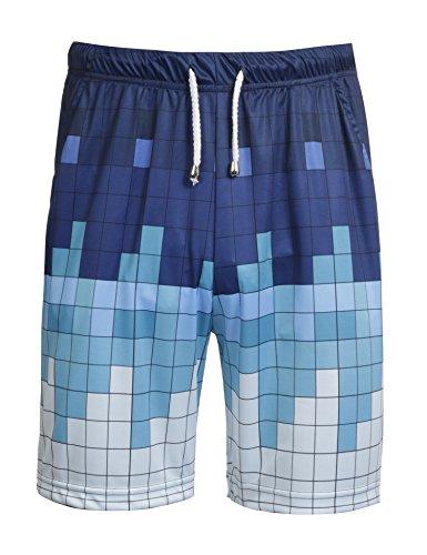 Elastic Waist Mesh Shorts - 6