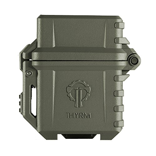 Thyrm PyroVault Lighter Armor, Compatible with Zippo Inserts (Olive Drab)