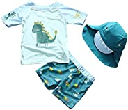 Yober Baby Toddler Boys Two Pieces Swimsuit Swimwear Rash Guards