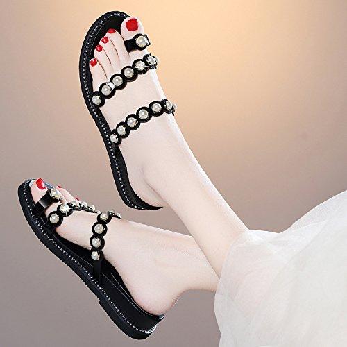 AJUNR strand Modische/Arbeit/Damen/Sandaletten mode cool hausschuhe strand AJUNR drag sommer neue wohnung zusammenbrach modisch anziehen coole schuhe 26a964