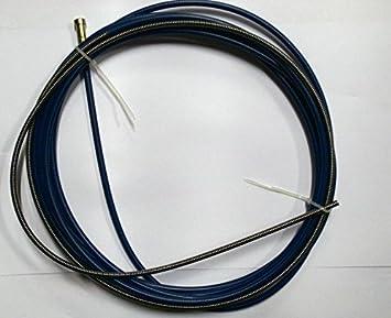 Drahtseele Führungsspirale Drahtführung blau Stahl 0,6-0,8 - 4m ...