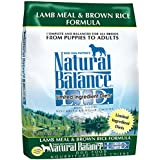 Natural Balance L.I.D. Limited Ingredient Diets Lamb Meal & Brown Rice Formula Dry Dog Food, 14-Pound